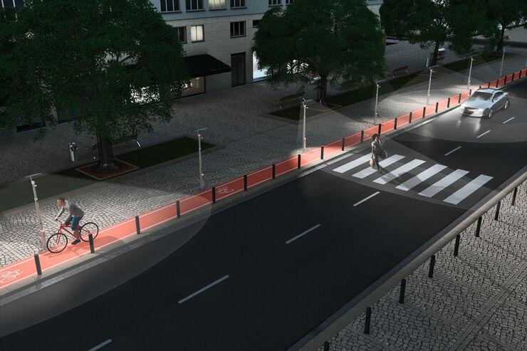 Straßenlaternen, Zukunft, Extra, Impression