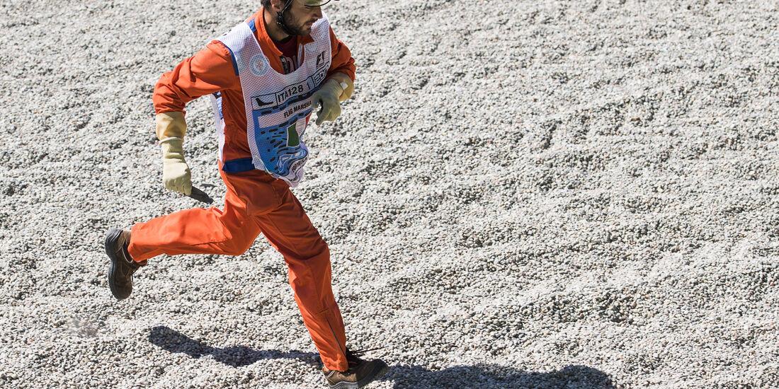 Streckenposten - GP Italien 2017
