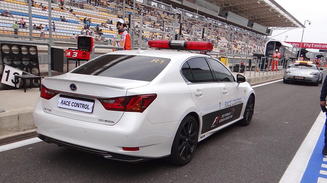 Streckensicherung - Formel 1 - GP Korea - 5. Oktober 2013