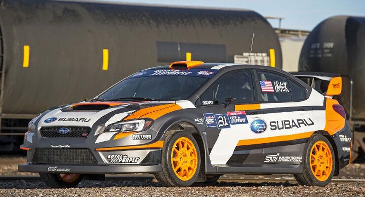 Subaru 2015 WRX STI Rallycross