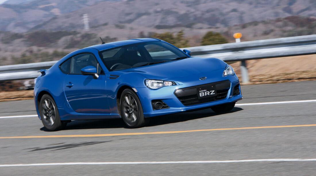 Subaru BRZ, Frontansicht