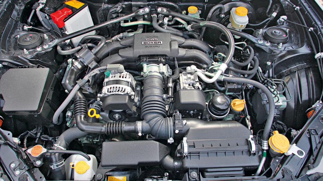 Subaru BRZ, Motor