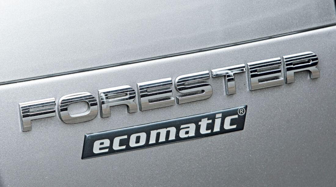 Subaru Forester 2.0 Ecomatic Modellbezeichnung