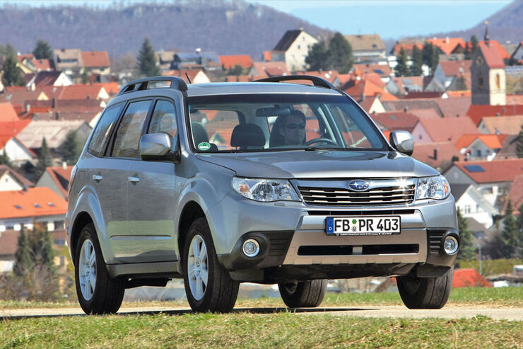 subaru forester 2 0 ecomatic im test auto motor und sport. Black Bedroom Furniture Sets. Home Design Ideas