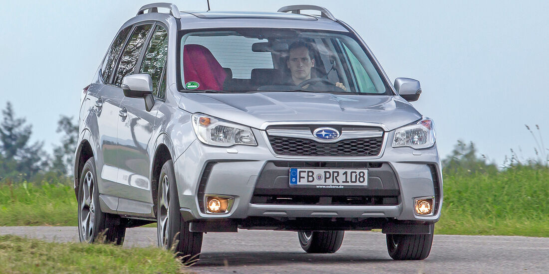 Subaru Forester 2.0D, Frontansicht