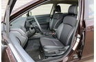 Subaru Impreza 1.6i Comfort, Vordersitze