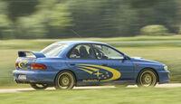 Subaru Impreza GT, Seitenansicht
