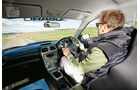 Subaru Impreza WRX Sti, Cockpit, Fahrersicht