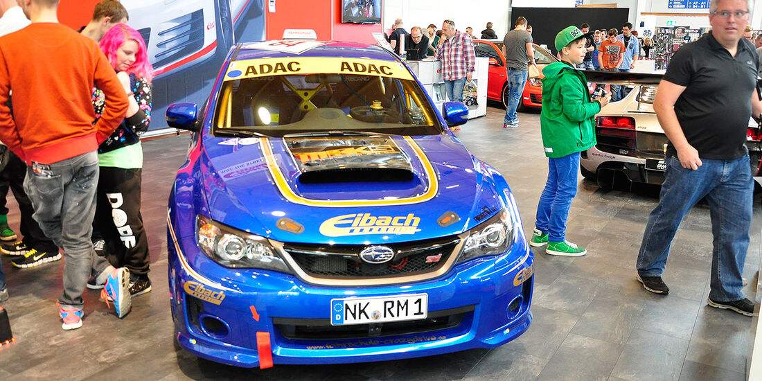 Subaru Impreza WRX Sti, Tuning World Bodensee 2014