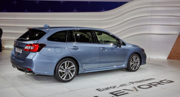 Subaru Levorg in Genf