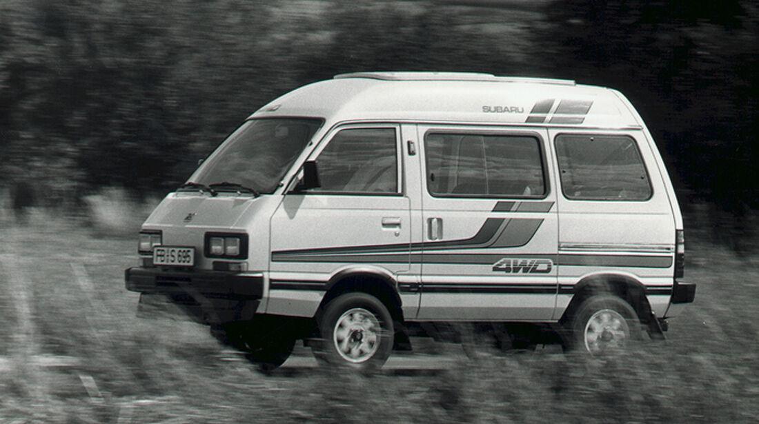 Subaru Libero (FA8), Seitenansicht