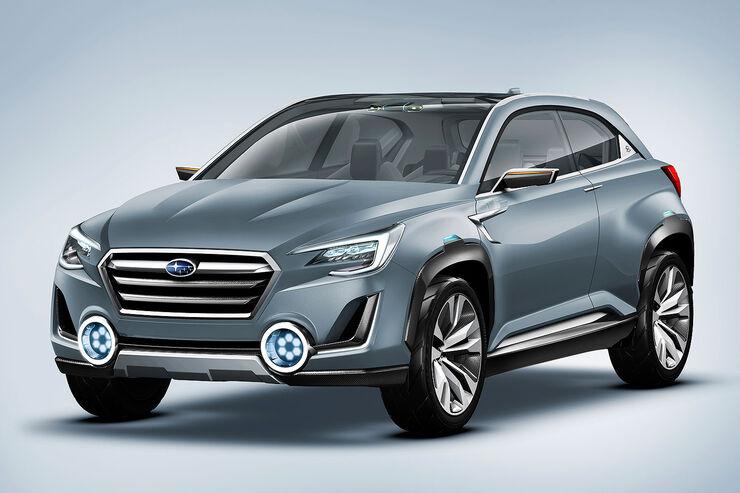 Subaru Viziv  2 Concept Genf 2014