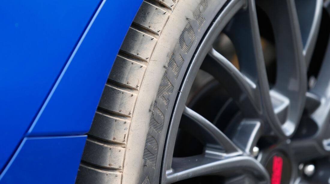 Subaru WRX STI, Felge