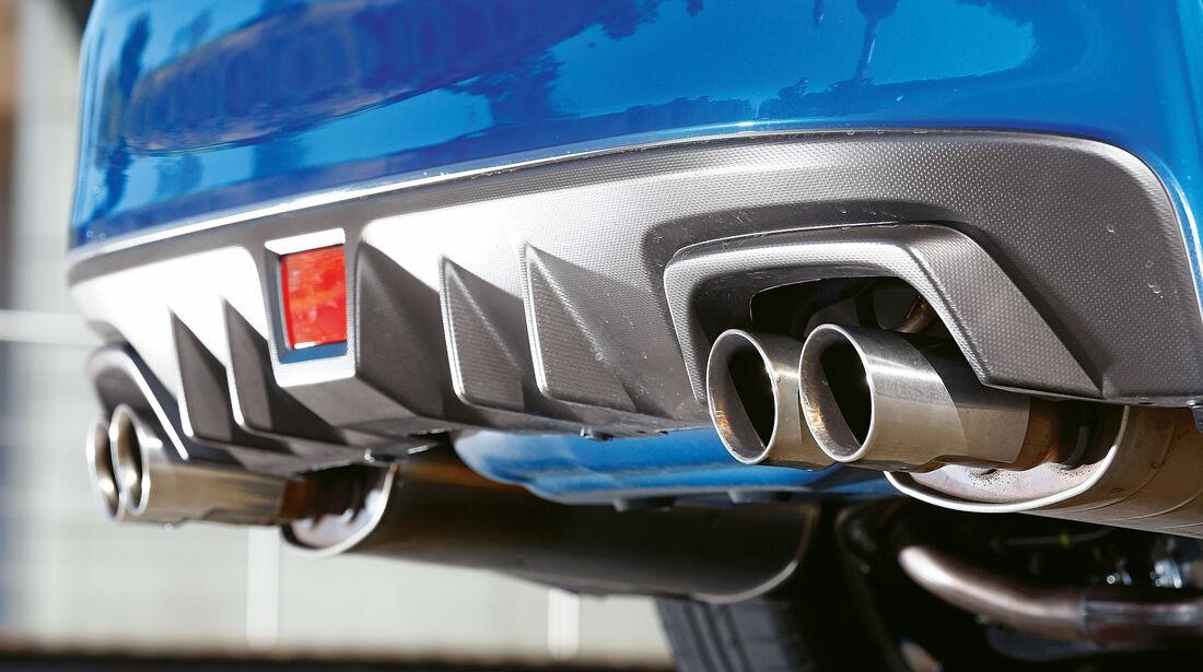 Subaru WRX STi, Endrohre