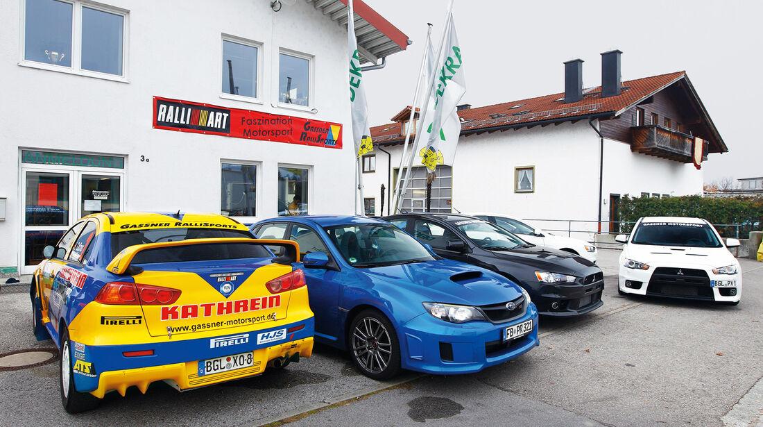 Subaru WRX Sti, Gassner Motorsport