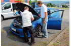Subaru WRX Sti, Motor, Motorhaube