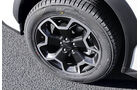 Subaru XV, Rad, Felge