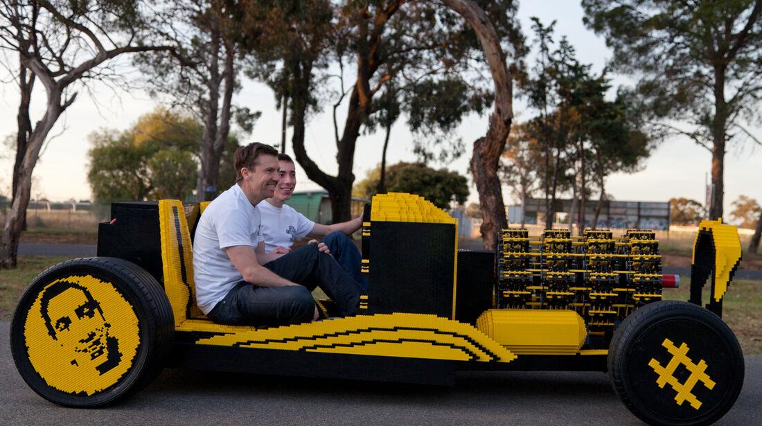 Super awesome mico project Lego-Auto