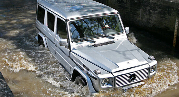 Supertest Mercedes G 320 CDI