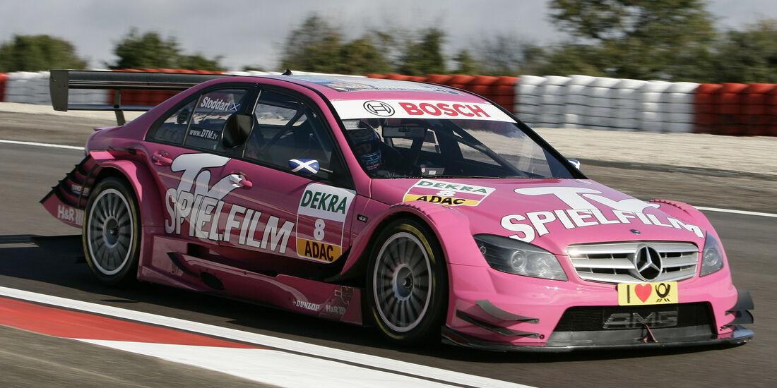 Susie Stoddart - Mercedes - DTM - Dijon - 2009