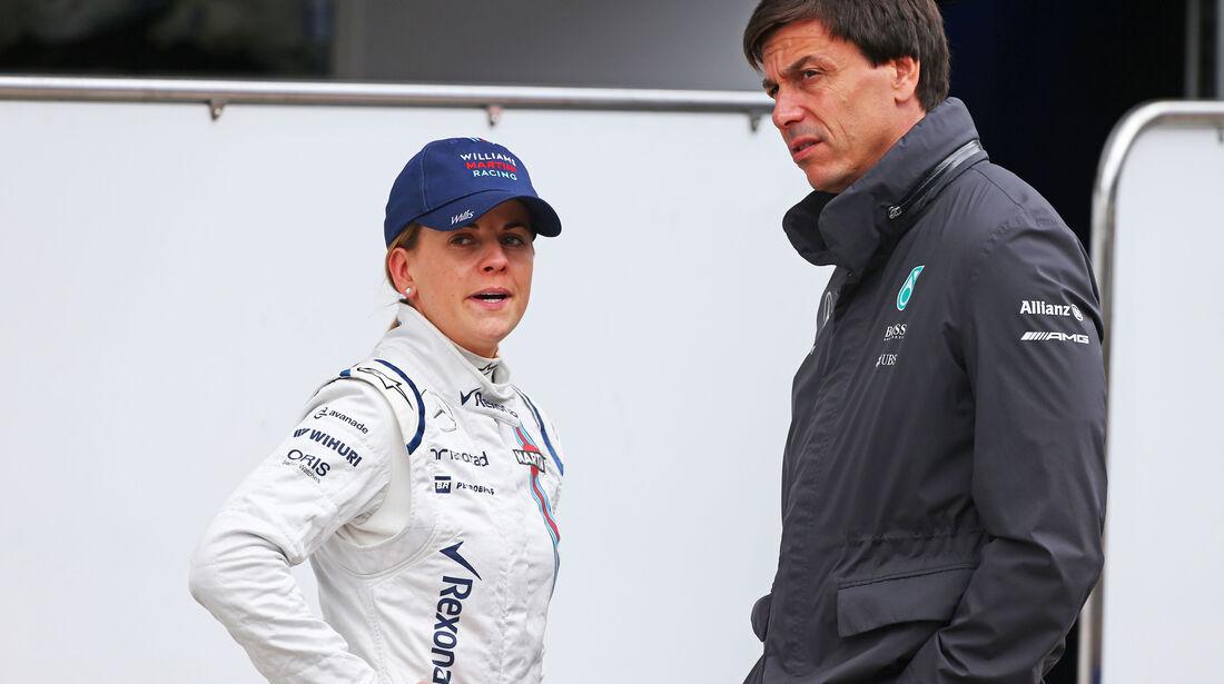 Susie & Toto Wolff - Formel 1 - Test - Spielberg - 23. Juni 2015