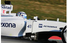 Susie Wolff - Williams - Formel 1-Test - Barcelona - 19. Februar 2015