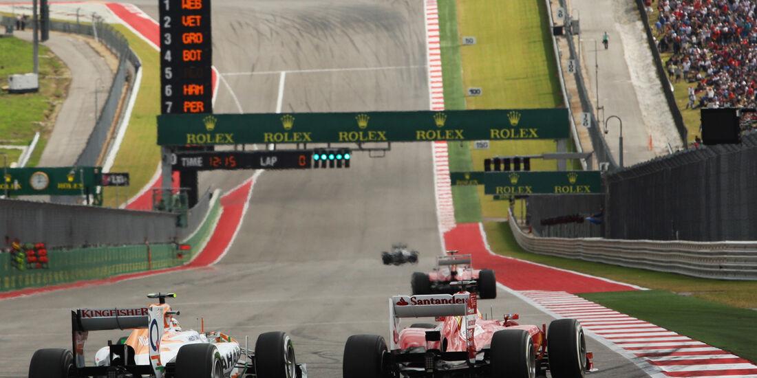 Sutil & Alonso - Formel 1 - GP USA - 16. November 2013