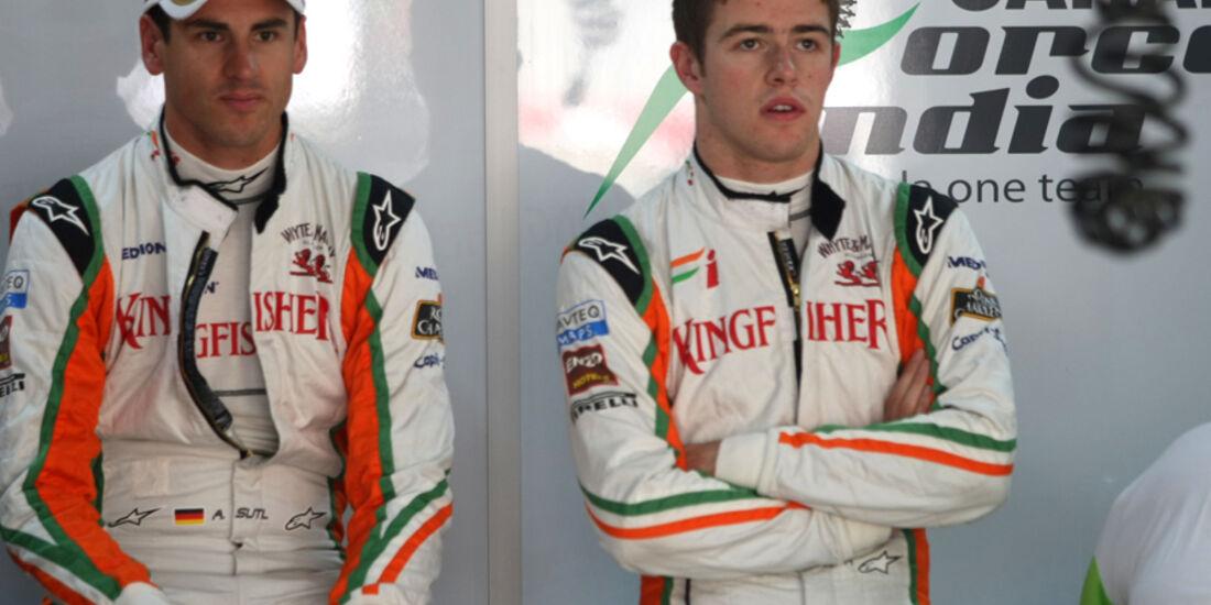 Sutil & Di Resta - GP Indien - Training - 28.10.2011