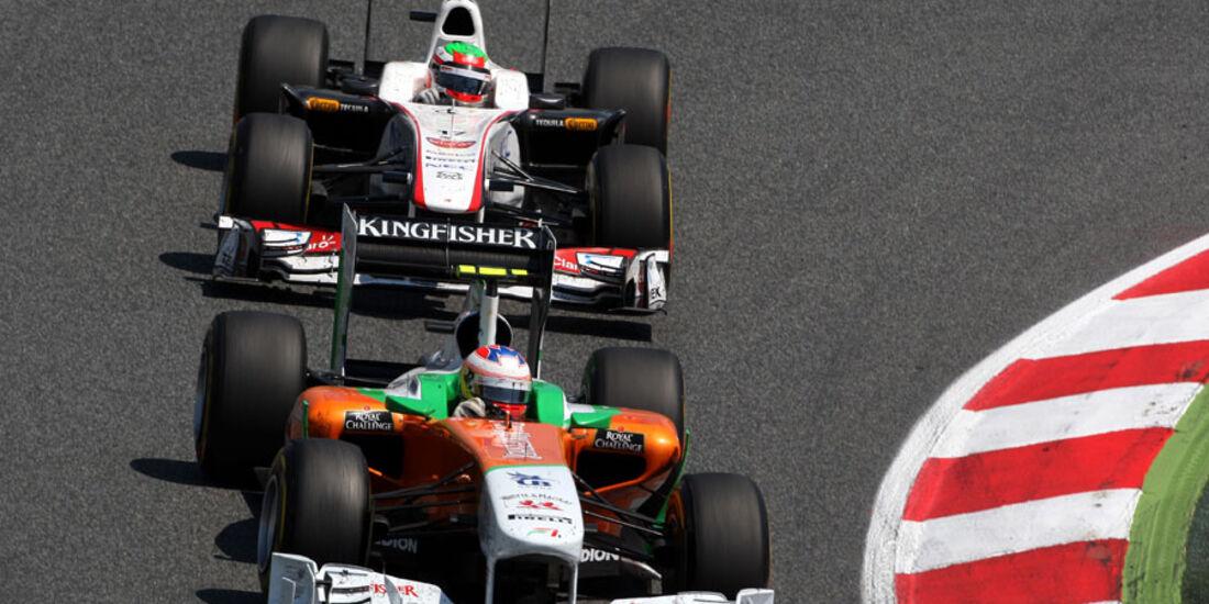 Sutil GP Spanien 2011