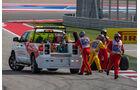 Sutil-Unfall - GP USA 2014