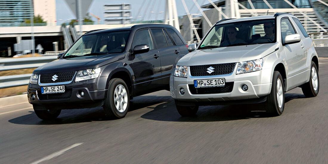 Suzuki Grand Vitara 2010 Modellpflege