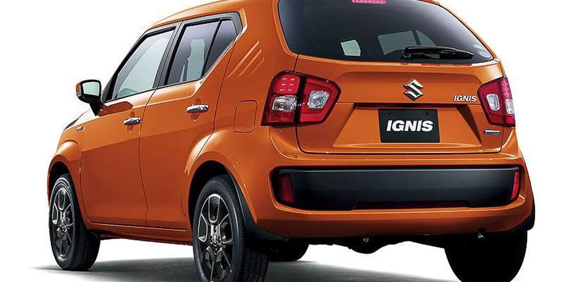 Suzuki Ignis, Concept Car, 2015, Tokyo Motor Show