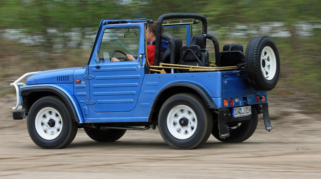 Suzuki LJ80, Heckansicht