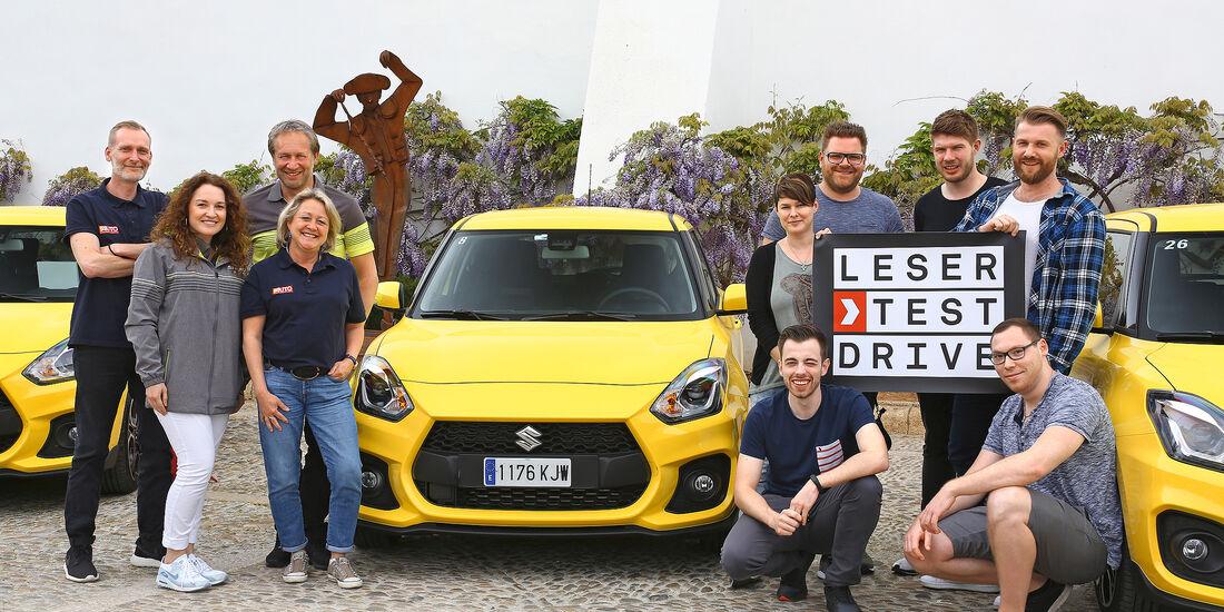 Suzuki Leser Test Drive 2018
