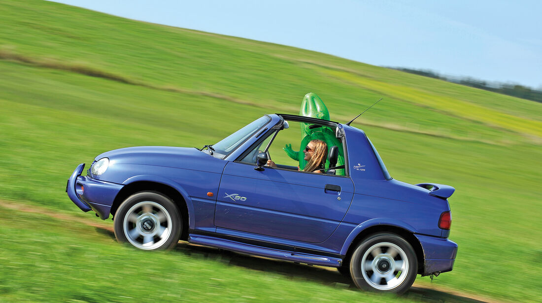 Suzuki Vitara X90, Seitenansicht