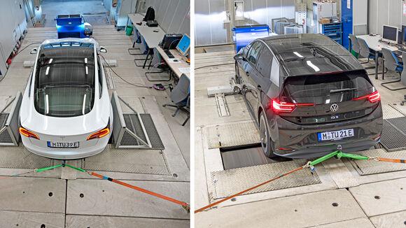 TU München Vergleich Tesla Model 3 vs. VW ID.3