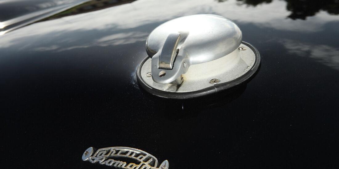 Tankdeckel des Siata 208 S