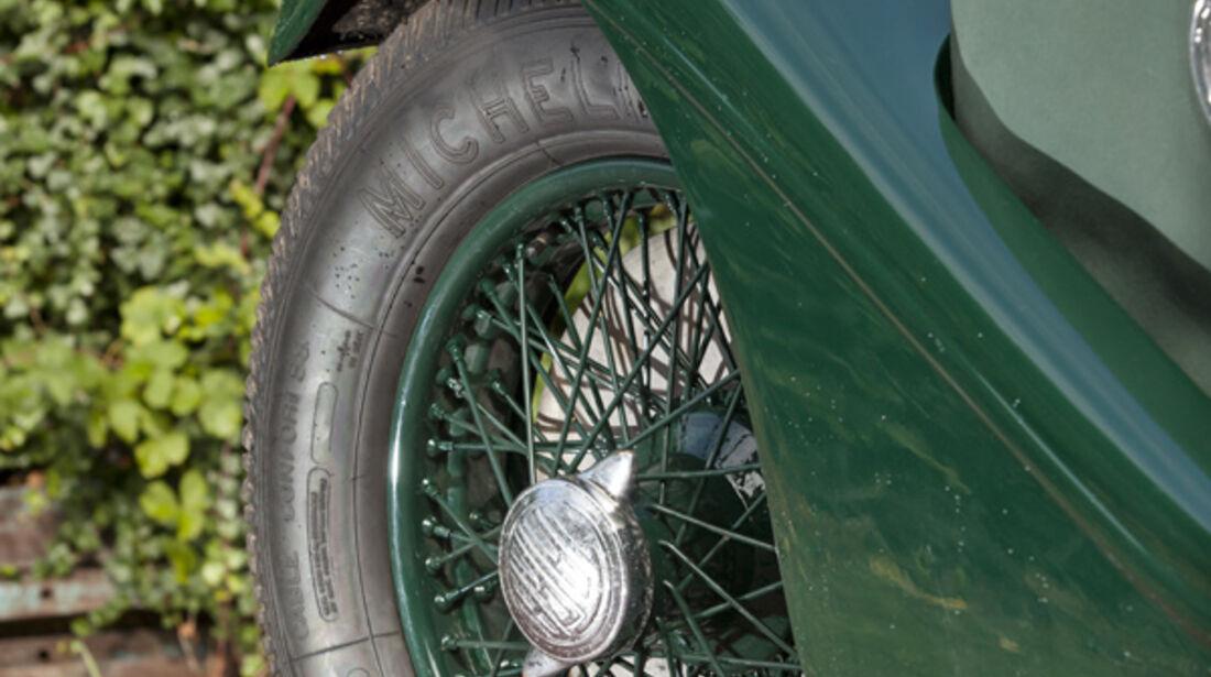 Tatra T80, Vorderrad, Felge
