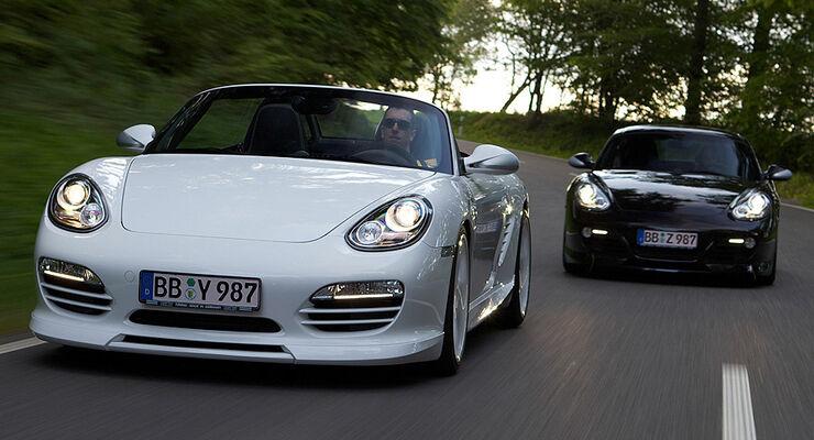 TechArt Porsche Boxster und Cayman