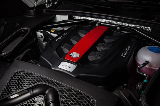 Techart Macan Turbo Motor