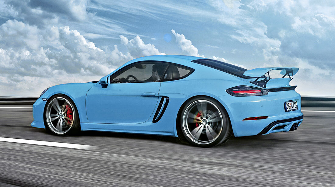 Techart-Porsche 718 Cayman S