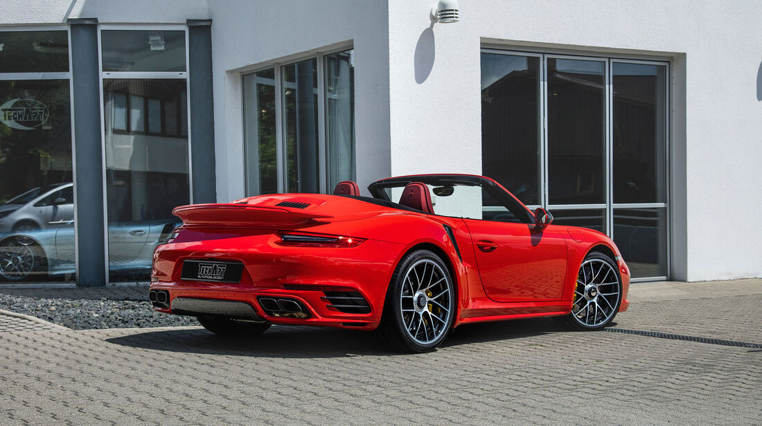 Techart-Porsche 911 Turbo S Cabriolet - Tuning - Cabrio - sport auto Award 2019