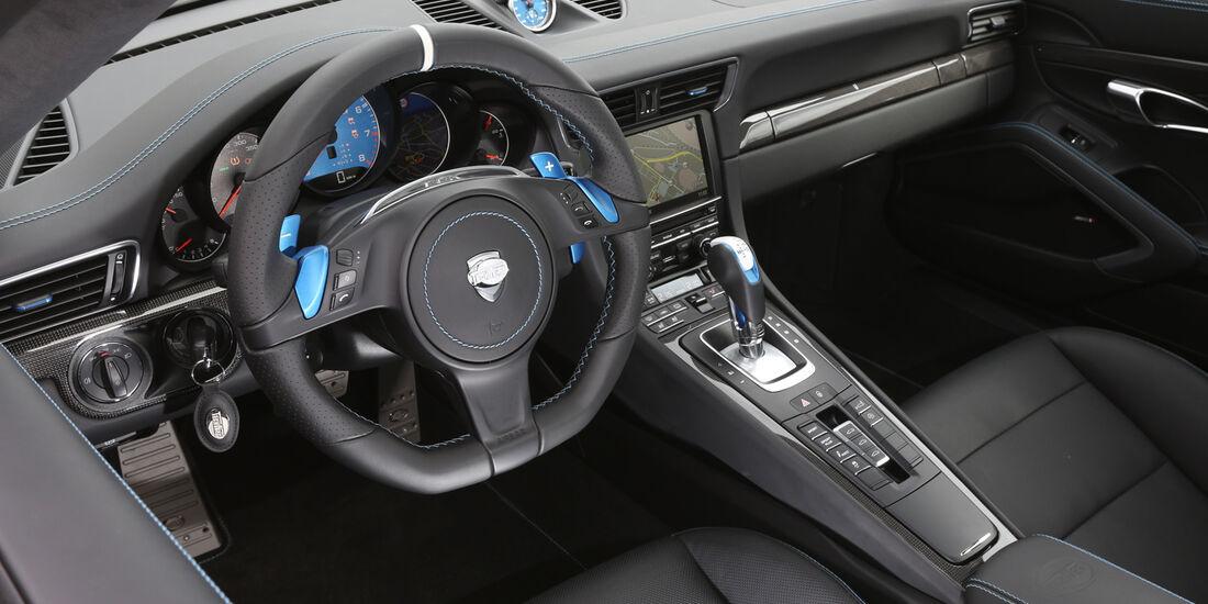 Techart Porsche 911 Turbo S, Cockpit