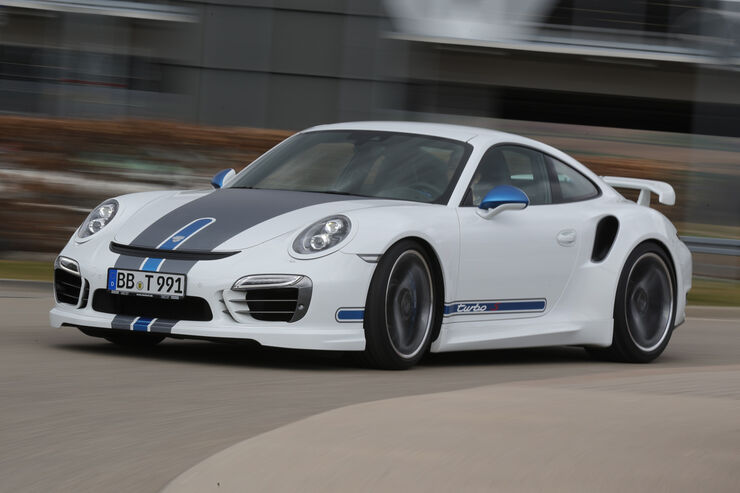Techart Porsche 911 Turbo S, Frontansicht