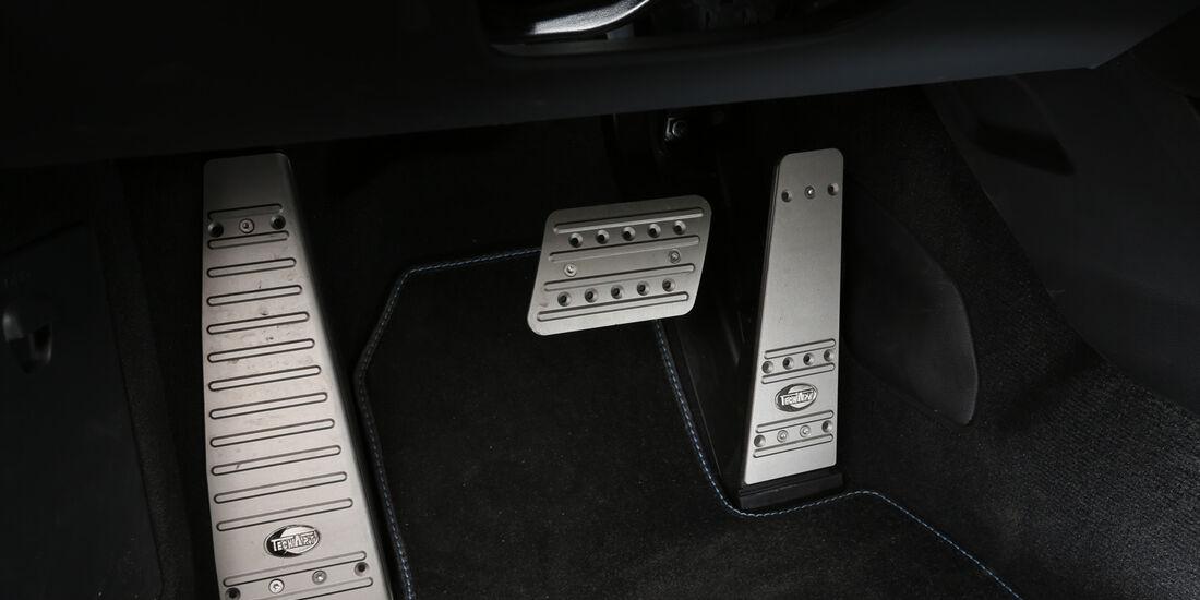 Techart Porsche 911 Turbo S, Pedalerie