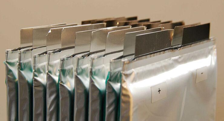 Technik High-Tech-Batterien