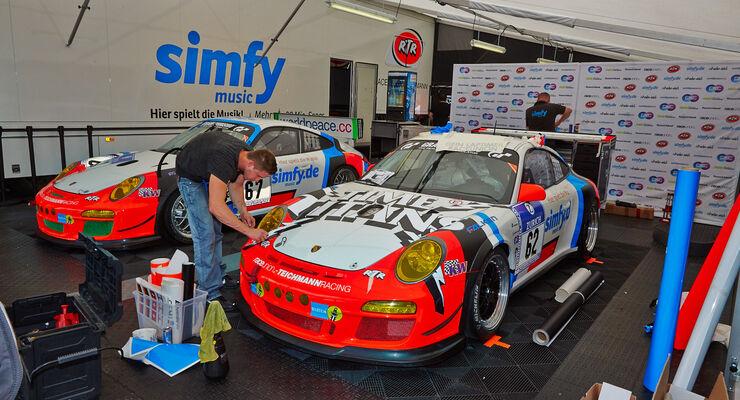 Teichmann Porsche - Lackierungen - 24h Rennen Nürburgring - 19. Juni 2014