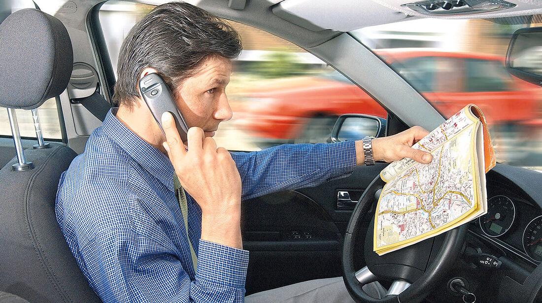 Telefonieren, Cockpit, Handy