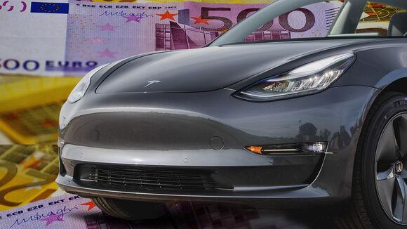 Tesla Gehälter Collage