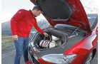 Tesla Model S, Gepäckraum